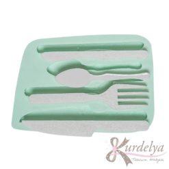 Çatal Bıçak Kaşık Seti silikon kalıp - KK-1394