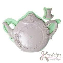Çay Takımı Saat silikon kalıp - KK-2012