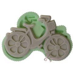 Çiçek Tekerlekli Bisiklet silikon kalıp - KK-2005