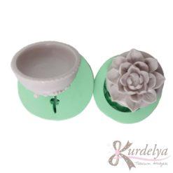 Çiçekli Kutu silikon kalıp - KK-1723