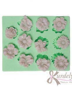 11 Farklı Modelde Küçük Çiçekler silikon kalıp - KK-1825