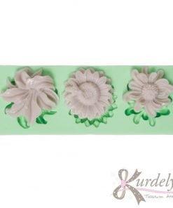 3 Farklı Modelde Küçük Çiçekler silikon kalıp - KK-1829