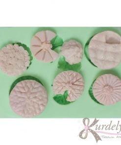 7 Çeşit Pasta silikon kalıp - KK-1861