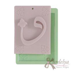 Arapça Harfler 4 silikon kalıp - KK-1573
