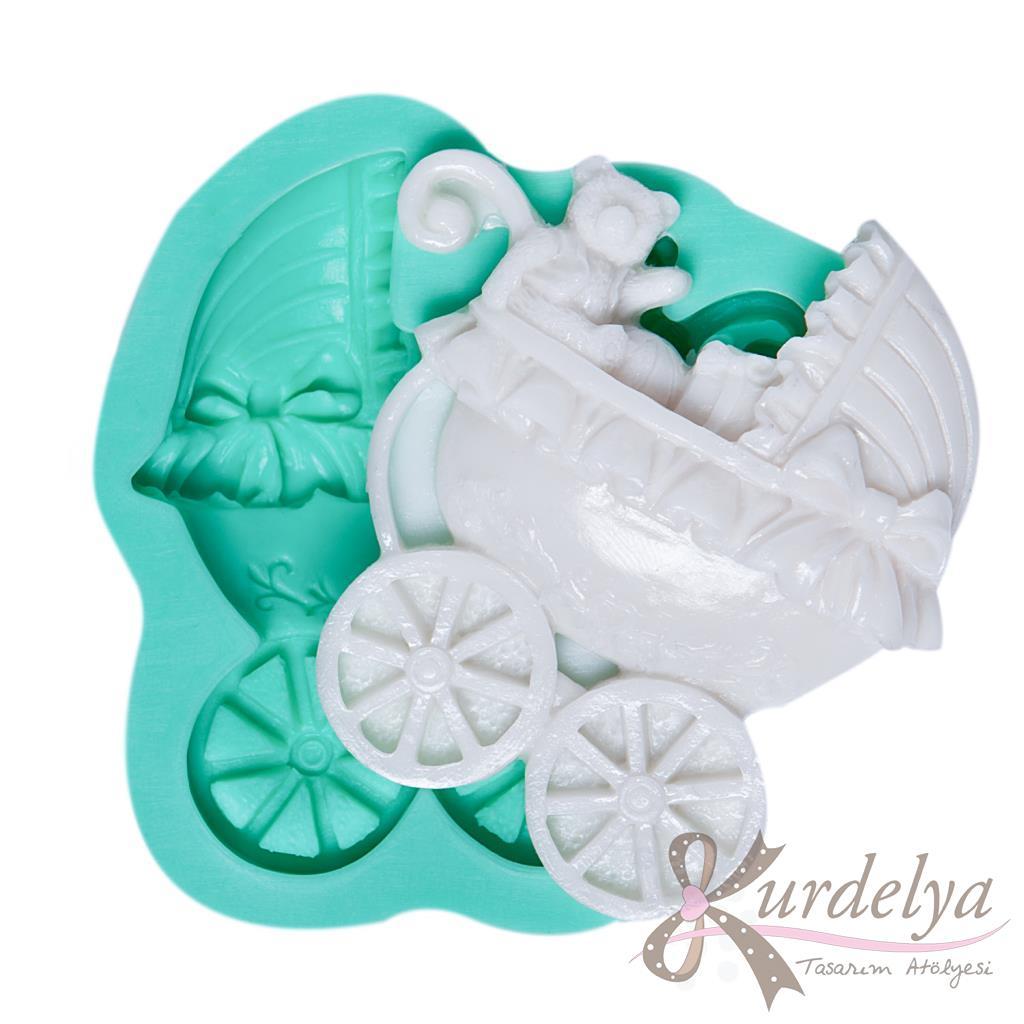 Bebek Arabası silikon kalıp - KK-822