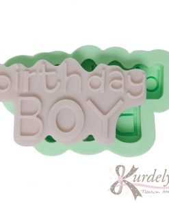 Birthday Boy silikon kalıp - KK-1853