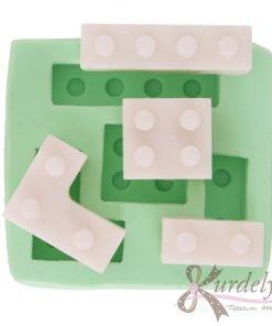 Dörtlü Lego silikon kalıp - KK-1472