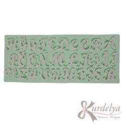 El Yazısı Harfleri silikon kalıp - KK-1690