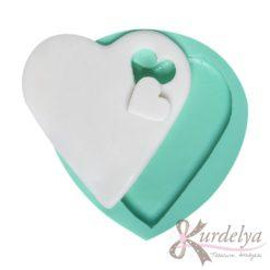 Kesik Kalp Detaylı silikon kalıp - KK-992