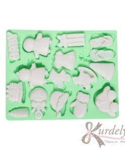 Minik Bebek Eşyaları silikon kalıp - KK-1362