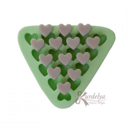 Minik Kalpler (15 adet) silikon kalıp - KK-2004