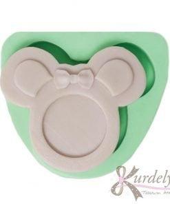 Minnie Mouse Çerçeve silikon kalıp - KK-1889