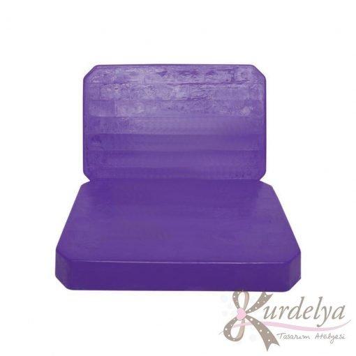 Eriyebilir Sabun Bazı Mor 1kg - HM-019