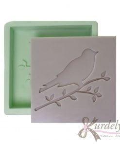 Oymalı Kuş Çerçevesi silikon kalıp - KK-2013