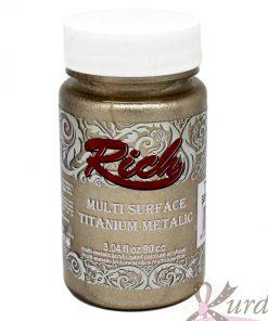 90 cc Şampanya Rich Multisurface-Titanium Metalic - RTM-2526