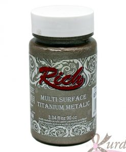 90 cc Antik Bej Rich Multisurface-Titanium Metalic - RTM-2508