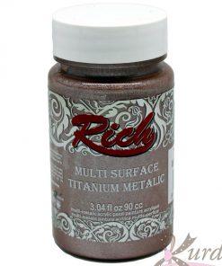 90 cc Antik Pembe Rich Multisurface-Titanium Metalic - RTM-2528