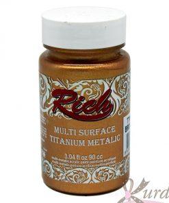90 cc Bronz Rich Multisurface-Titanium Metalic - RTM-2532