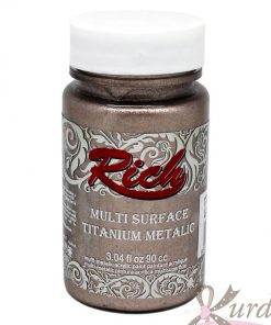 90 cc Latte Rich Multisurface-Titanium Metalic - RTM-2510