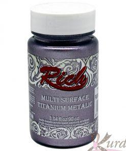 90 cc Pudra Mor Rich Multisurface-Titanium Metalic - RTM-2576