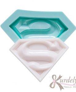 Süperman Amblemi silikon kalıp - KK-1157
