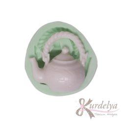 Yeşil Çay Çaydanlığı silikon kalıp - KK-1380