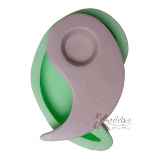 Yin Yang Tealight Mumluk silikon kalıp - KK-2000