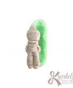 Bereli Atkılı Erkek Çocuk silikon ve kokulu taş kalıbı