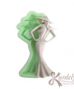 Zarif Kadın -1 silikon ve kokulu taş kalıbı