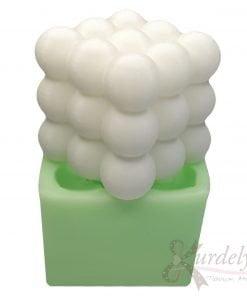 Büyük Boy Bubble Mum silikon ve kokulu taş kalıbı