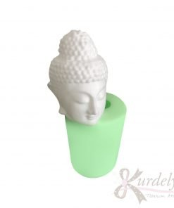 Buddha Kafası Heykeli Mum silikon ve kokulu taş kalıbı