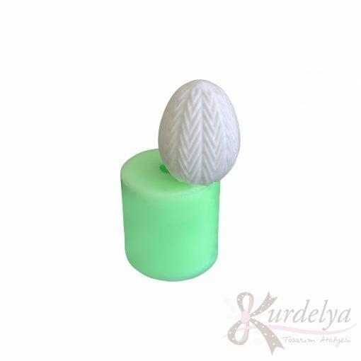 Model-12 Yumurta silikon ve kokulu taş kalıbı