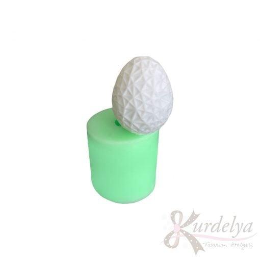 Model-13 Yumurta silikon ve kokulu taş kalıbı