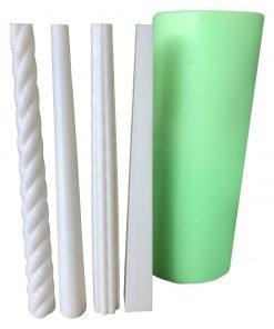 Model-1 Uzun Mum silikon mum