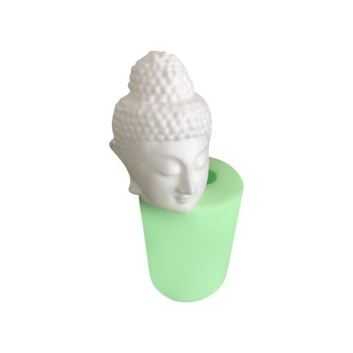Buddha Kafası Heykeli Mum silikon mum