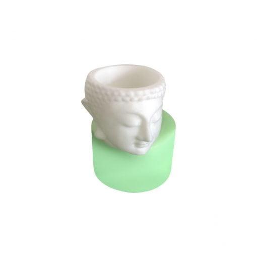 Buddha Kafası Heykeli Tealight Mum silikon mum
