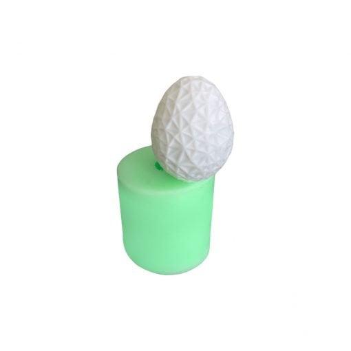 Model-13 Yumurta silikon mum