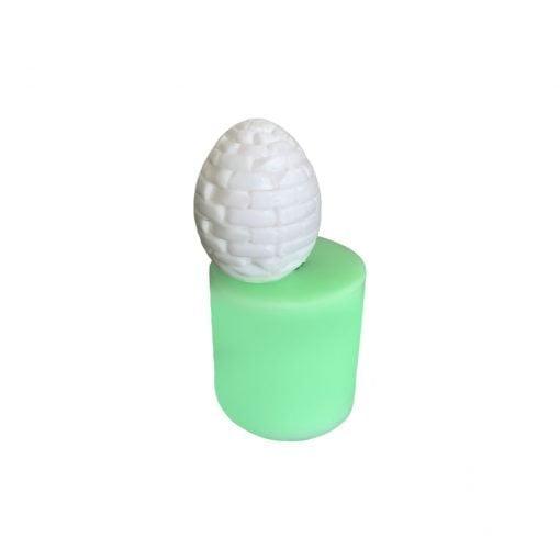 Model-14 Yumurta silikon mum