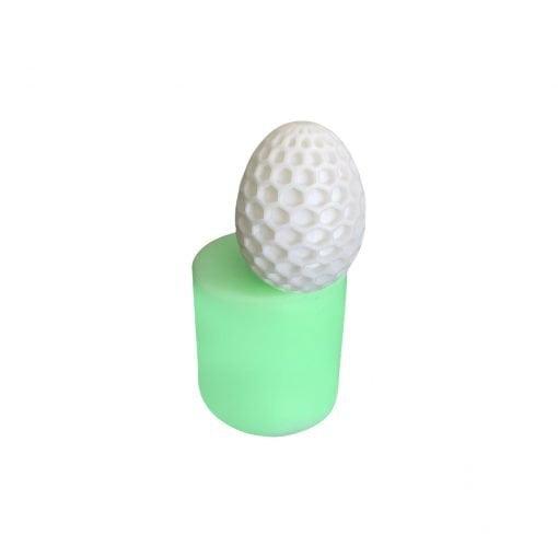 Model-5 Yumurta silikon mum