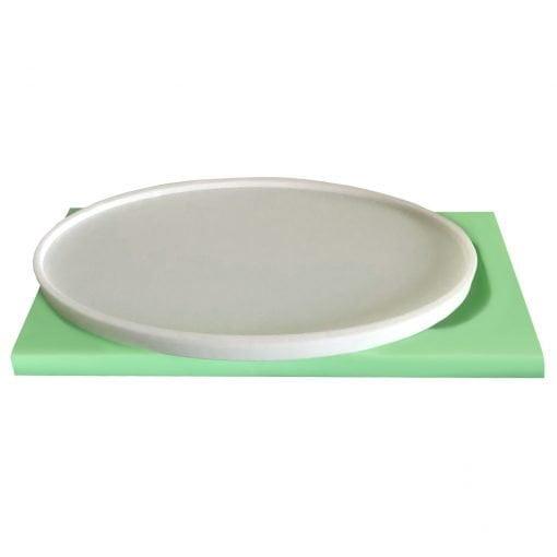 Oval Tabanlık silikon mum