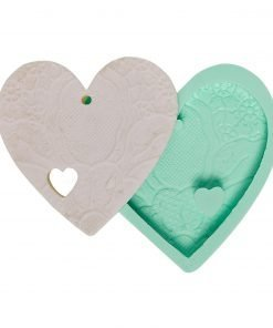 Heart Detailed Lace Embroidered Perforated candle silicone mold, Heart Detailed Lace Embroidered Perforated concrete silicone mold, Heart Detailed Lace Embroidered Perforated resin silicone mold, Heart Detailed Lace Embroidered Perforated soap silicone mold, Heart Detailed Lace Embroidered Perforated epoxy silicone mold, Heart Detailed Lace Embroidered Perforated clay silicone mold